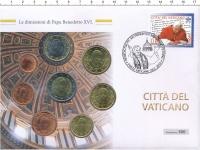 Изображение Подарочные монеты Ватикан Евронабор 2012 2012  UNC