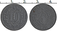 Изображение Монеты Данциг 10 пфеннигов 1920 Цинк XF