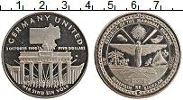 Изображение Монеты Маршалловы острова 5 долларов 1990 Медно-никель UNC- Объединение Германии