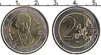Изображение Монеты Сан-Марино 2 евро 2004 Биметалл UNC Бартоломео Боргези