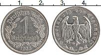 Изображение Монеты Третий Рейх 1 марка 1935 Медно-никель XF