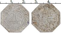 Изображение Монеты Германия : Нотгельды 20 пфеннигов 1920 Алюминий XF-