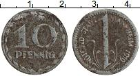 Изображение Монеты Германия : Нотгельды 10 пфеннигов 1919 Железо XF Манхейм