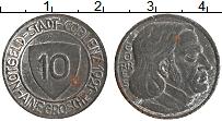 Изображение Монеты Германия : Нотгельды 10 пфеннигов 1921 Цинк XF Кобленц