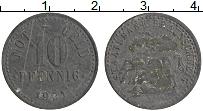 Изображение Монеты Германия : Нотгельды 10 пфеннигов 1921 Цинк XF Брауншвейг