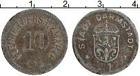 Изображение Монеты Германия : Нотгельды 10 пфеннигов 1917 Железо XF Дармштадт