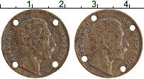 Изображение Монеты Германия Жетон 0 Бронза XF Вильгельм II