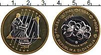 Изображение Монеты Словения 1 евро 2004 Биметалл UNC Проба