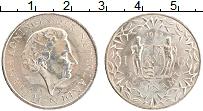 Изображение Монеты Суринам 1 гульден 1962 Серебро UNC- Юлиана
