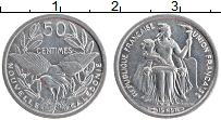 Продать Монеты Новая Каледония 50 сантим 1949 Алюминий