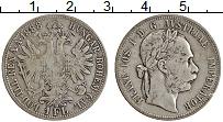 Изображение Монеты Австрия 1 флорин 1888 Серебро XF Франс Иосиф I