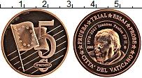 Изображение Монеты Ватикан 5 евроцентов 2003 Бронза UNC Проба