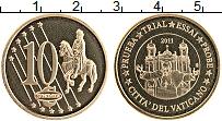 Изображение Монеты Ватикан 10 евроцентов 2011 Латунь UNC Проба
