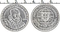Изображение Монеты Португалия 1000 эскудо 1980 Серебро UNC 400 лет со смерти Лу