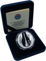 Изображение Подарочные монеты Киргизия 10 сом 2018 Серебро Proof Комуз. Серебро 925.