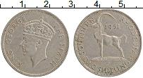 Изображение Монеты Родезия 2 шиллинга 1951 Медно-никель XF Георг VI