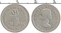 Продать Монеты Родезия 3 пенса 1957 Медно-никель