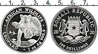 Изображение Монеты Сомали 100 шиллингов 2020 Серебро Proof Леопард
