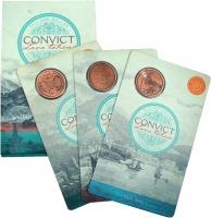 Изображение Подарочные монеты Австралия 1 доллар 2016 Медь UNC З монеты Австралии и