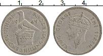 Продать Монеты Родезия 1 шиллинг 1949 Медно-никель