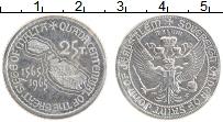 Изображение Монеты Мальтийский орден 25 тари 1965 Медно-никель UNC Орден Иоанна Иерусал