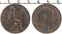 Изображение Монеты Великобритания 1 пенни 1904 Бронза UNC- Эдуард VII