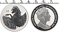 Изображение Монеты Виргинские острова 1 доллар 2020 Серебро Proof Пегас
