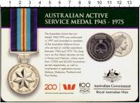 Изображение Подарочные монеты Австралия 20 центов 2017 Медно-никель UNC