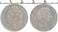 Изображение Монеты Швеция 1/4 ригсдалера 1831 Серебро XF Карл XIV