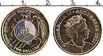 Изображение Мелочь Австралия 2 доллара 2020 Латунь UNC 75 лет окончания WWI
