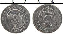Изображение Монеты Швеция 4 эре 1678 Серебро VF