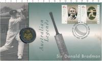 Изображение Подарочные монеты Австралия 5 долларов 1997 Биметалл UNC
