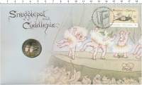 Изображение Подарочные монеты Австралия 1 доллар 2018 Латунь UNC `100 лет первой публ
