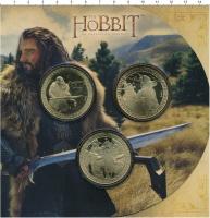 Изображение Подарочные монеты Новая Зеландия Хоббит 2012 Латунь UNC