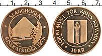 Изображение Монеты Швеция 10 крон 1979 Бронза UNC Городские деньги