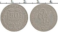 Изображение Монеты Западная Африка 50 франков 1976 Медно-никель VF