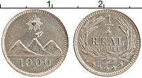 Изображение Монеты Гватемала 1/4 реала 1900 Медно-никель UNC