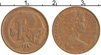 Изображение Монеты Австралия 1 цент 1971 Бронза XF