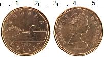 Изображение Монеты Канада 1 доллар 1989 Латунь XF