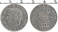 Изображение Монеты Швеция 1 крона 1973 Медно-никель XF Густав VI Адольф