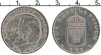 Изображение Монеты Швеция 1 крона 1990 Медно-никель XF Карл XVI Густав
