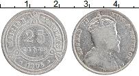 Изображение Монеты Белиз 25 центов 1906 Серебро VF Эдуард VII. Брнитанс