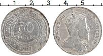 Изображение Монеты Белиз 50 центов 1907 Серебро VF Эдуард VII. Брнитанс