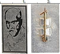 Изображение Монеты СССР Значок 0 Алюминий XF Райнис
