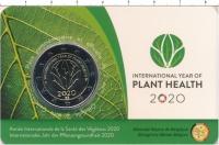 Изображение Подарочные монеты Бельгия 2 евро 2020 Биметалл UNC Международный год ох