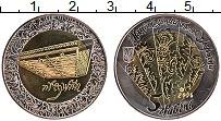 Изображение Монеты Украина 5 гривен 2006 Биметалл UNC- Цымбалы