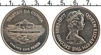 Изображение Монеты Тристан-да-Кунья 25 пенсов 1977 Медно-никель UNC- Елизавета II. 25 лет