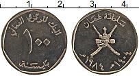 Продать Монеты Оман 100 байз 1984 Медно-никель