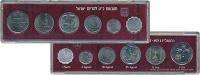 Изображение Подарочные монеты Израиль Набор 1977 года 1977  UNC