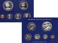 Изображение Подарочные монеты Виргинские острова Выпуск 1975 года 1975  Proof